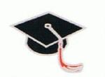 Graduation Cap - Enamel Charm